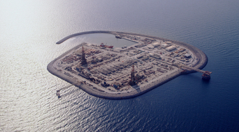 In pictures: ADNOC's artificial islands