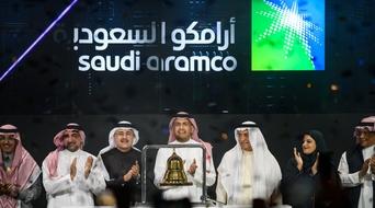 Saudi Aramco valued at $1.88trn after market debut