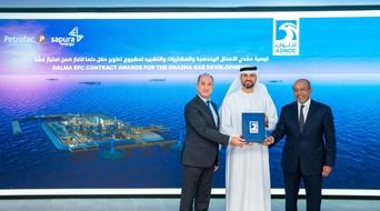 ADNOC awards $1.65 billion Dalma contracts to Petrofac