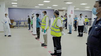 Abu Dhabi Ports establishes COVID-19 testing facilities at Zayed Port and Khalifa Port