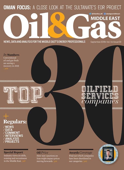 Oil & Gas Middle East - September 2018