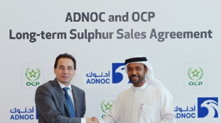 ADNOC, Morocco's OCP ink long-term sulphur sales agreement