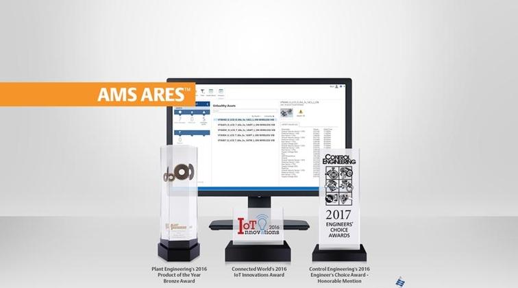 Emerson's asset management platform bestowed with IIoT, reliability awards