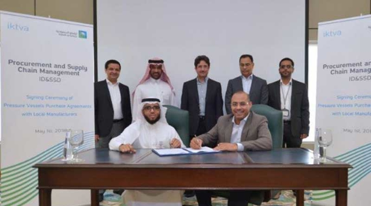 Aramco empowers local capabilities with $6.93bn purchase agreements for pressure vessels