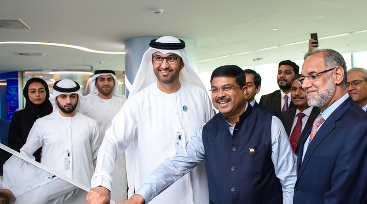First crude oil cargo from ADNOC departs for Mangalore oil reserve in India