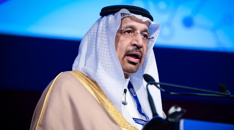 Saudi energy minister says 'no intention' of oil embargo, unsure about spare capacity
