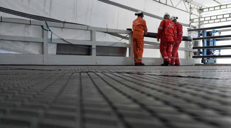 Trelleborg receives DNV-GL certification for fireproofing tiles