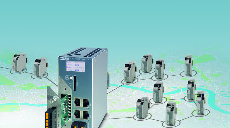 Intelligent Ethernet extenders