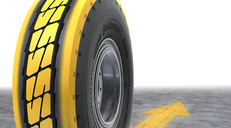 Continental introduces new radial tyre portfolio for port applications