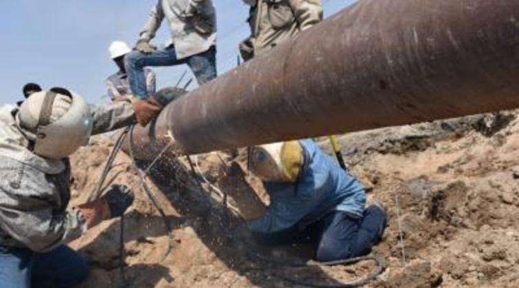 Damaged Iraq pipeline in Basra repaired