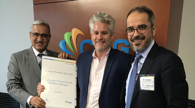 CGG Geoscience delivers multi-year integrated study to Kuwait Gulf Oil Company