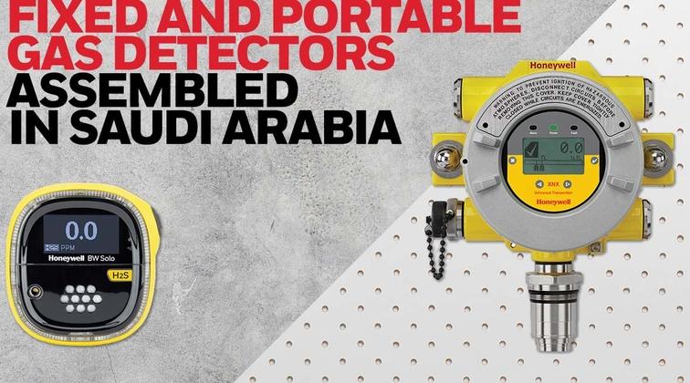 Honeywell opens gas detector factory in Saudi Arabia
