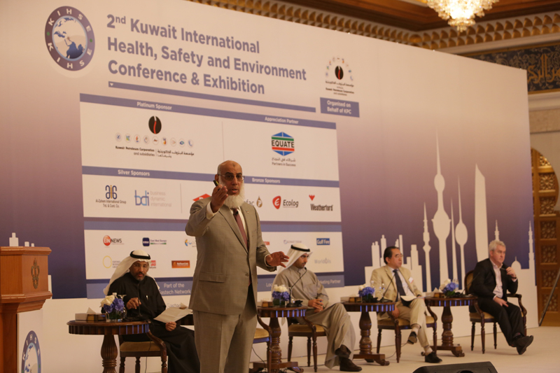 Mohammad Husain, president and CEO, Equate, participated in various panel discussions held during the 2nd Kuwait International Health, Safety and Environment Conference and Exhibition.