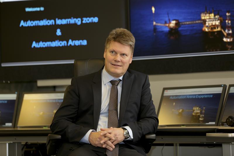 Per Erik Holsten, senior VP, ABB