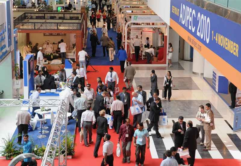 ADIPEC show in previous years.