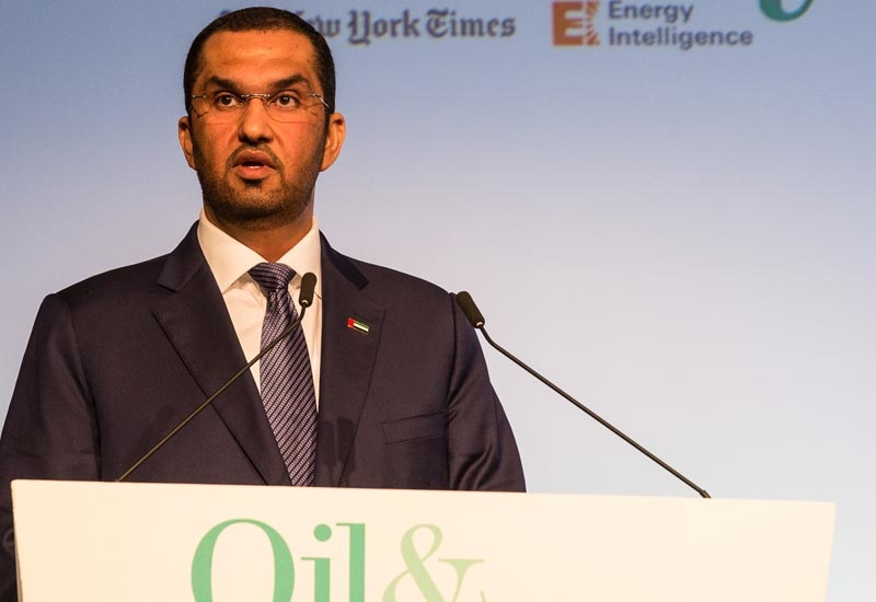 HE Dr Sultan Ahmed Al Jaber, UAE Minister of State and ADNOC Group CEO, delivers the ministerial keynote address at the 38th annual Oil and Money Conference in London.