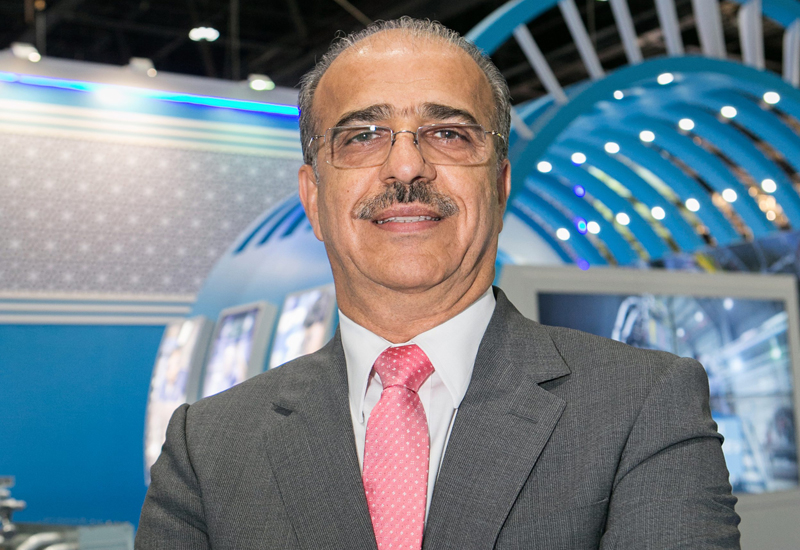 Abdul Khaliq Saeed at ADIPEC 2016