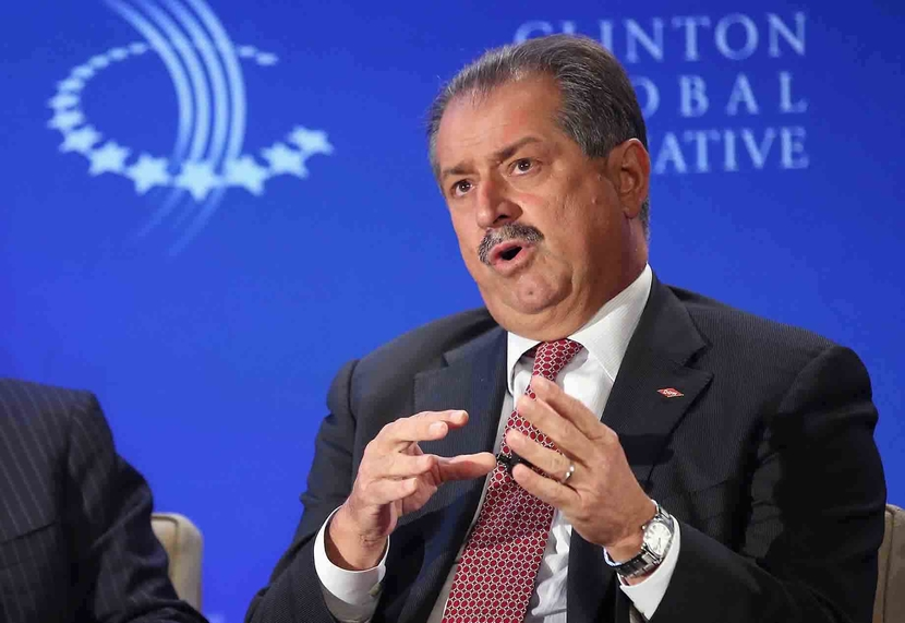 Andrew Liveris, Dow Chairman said the money will go into strengthening Dow's balance sheet.