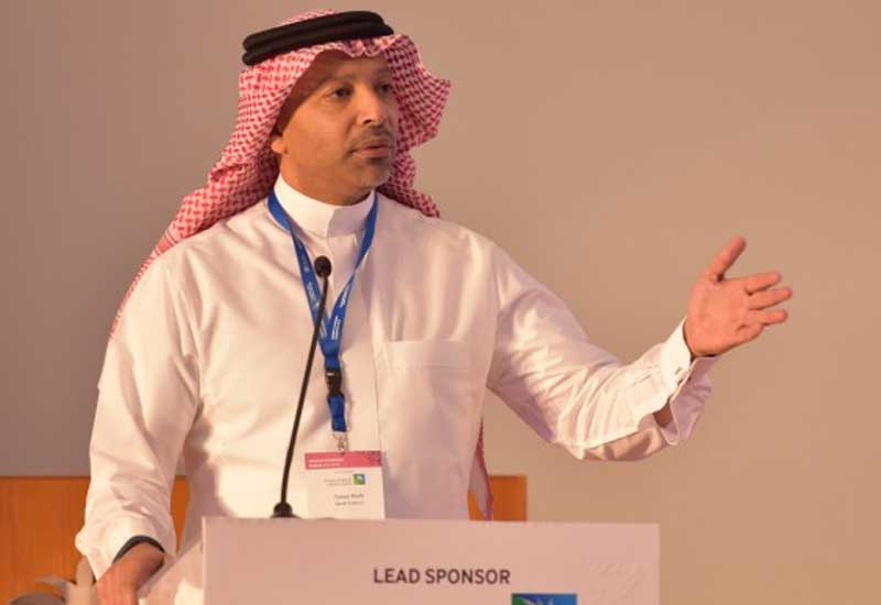Yaser Mufti, vice president, strategy and market analysis, Saudi Aramco, at the opening session of the Women in Leadership Economic Forum.
