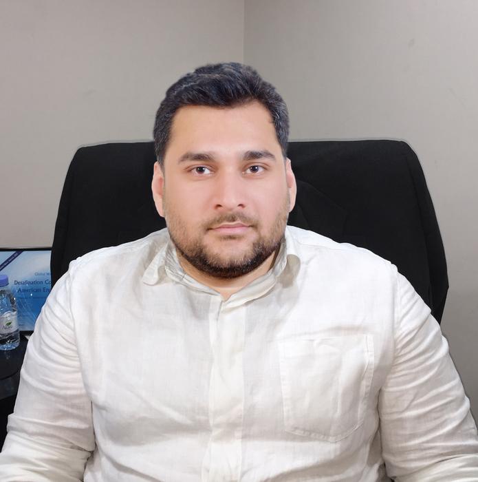 AES Arabia's Business Development Manager Asad Iqbal Khan.