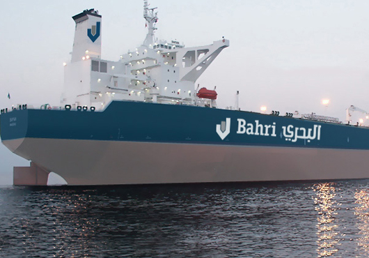 Bahri signed an MoU with Saudi Aramco and Sembcorp Marine in August 2013.