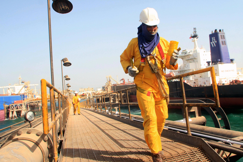 Iraq is boosting exports and production in a hurry. GETTY IMAGES
