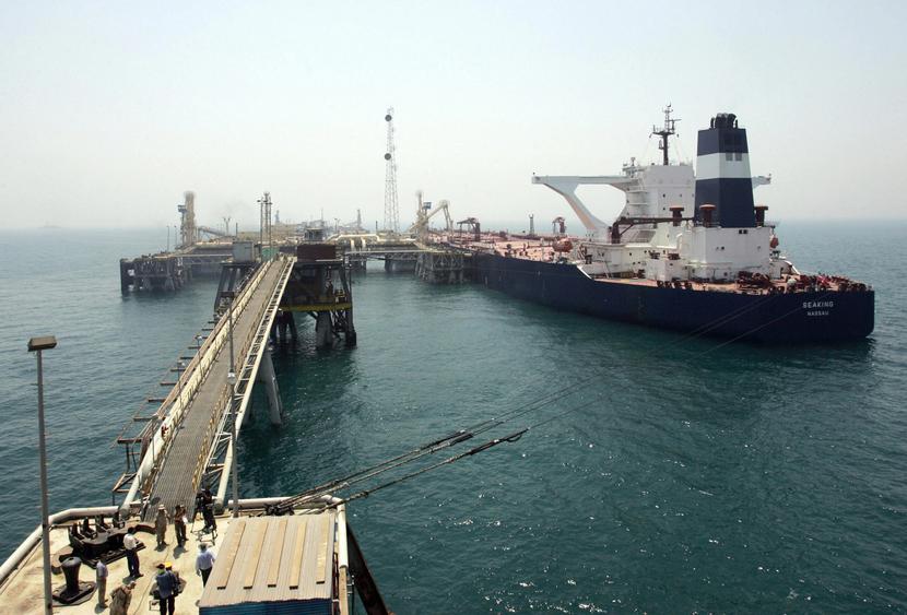 Basra Oil Terminal.