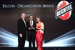 Winning the Falcon Award is a recognition for Bechtel's 50-year history in UAE.