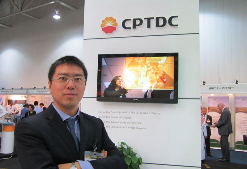 Yuan Lu, Chief Representative for the Saudi Arabia office of CPTDC.