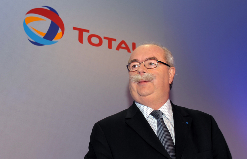 Christophe de Margerie, Chairman and CEO of Total.