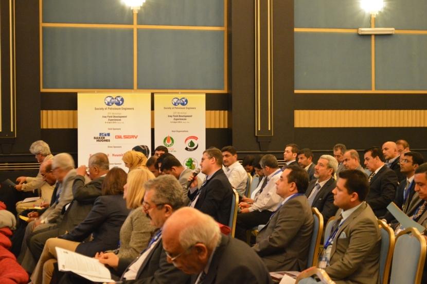 Society of Petroleum Engineers workshop in Basra, Iraq