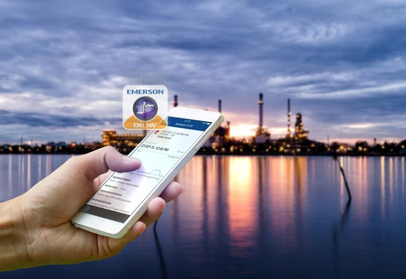 DeltaV Mobile  introduced by Emerson in June 2017  is an important IIoT tool to help companies make decisions faster and smarter.