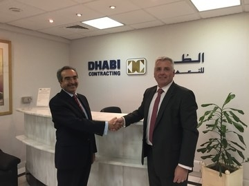 Prior to the JV agreement Dhabi Contracting acted as partner and sponsor to support Nortech's entry in the market, which led to securing two significant contracts.