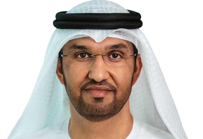 Dr Sultan Al Jaber, Group CEO of the Abu Dhabi National Oil Company