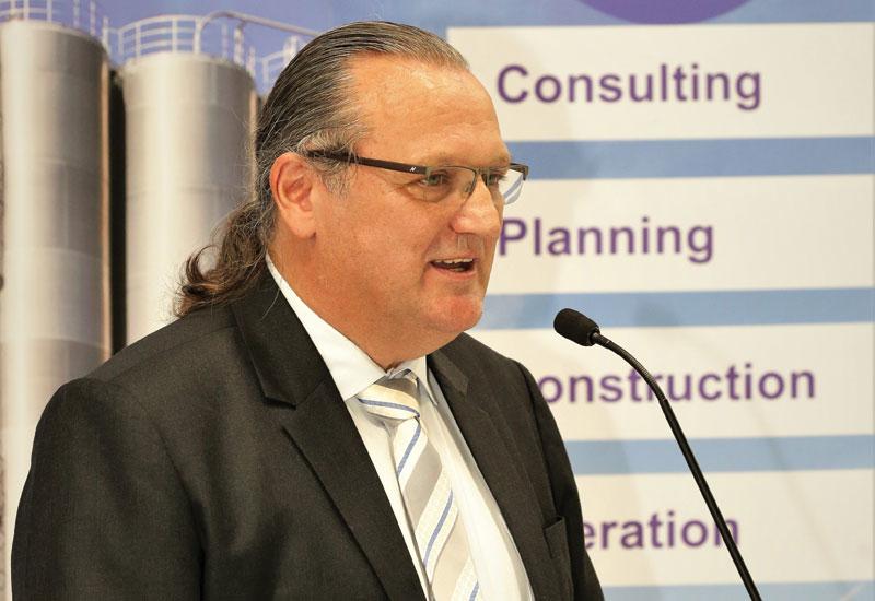 Dr Wolfgang Hoppmann, CEO, Schmidt Middle East Logistics.