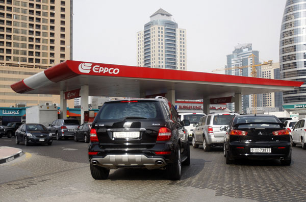 Fuel prices in the UAE for April hiked by over 10%.