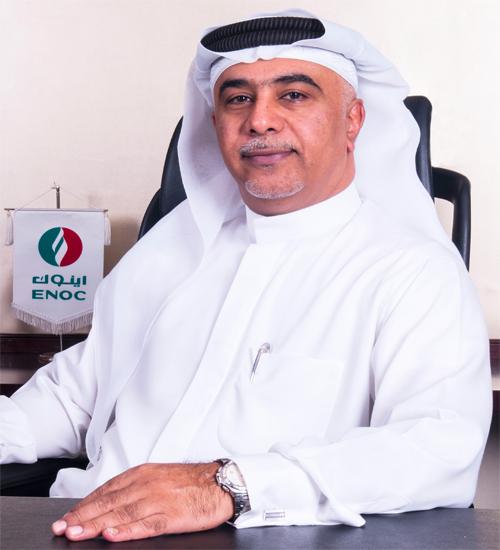 Burhan Al Hashemi, managing director, ENOC Retail.