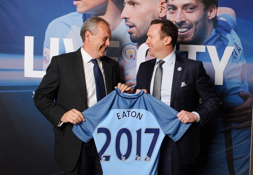 Eaton has announced it has become the official home energy storage partner of Manchester City Football Club.