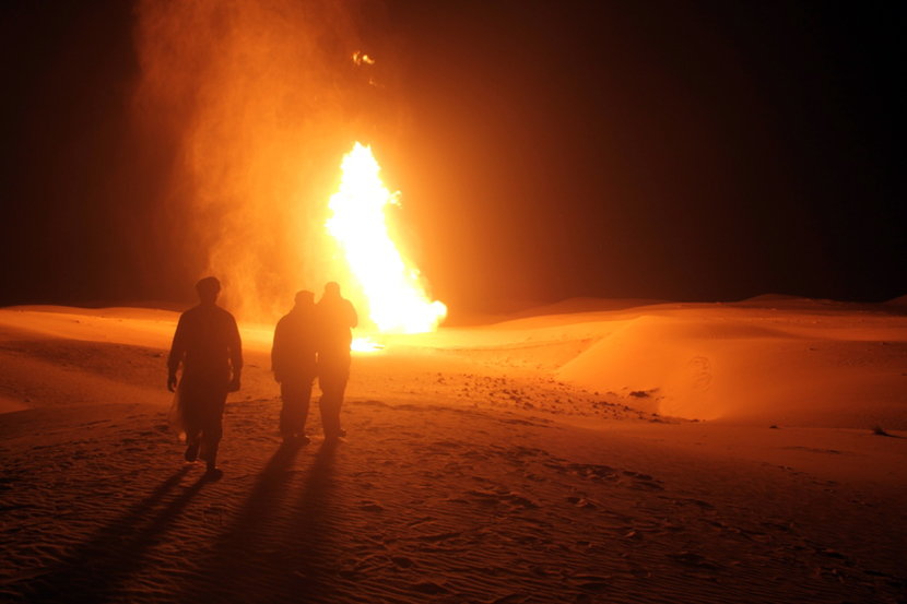 Egypt main gas export pipeline has been attacked frequently since the overthrow of Hosni Mubarak. GETTY IMAGES
