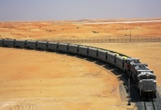 More than two million tonnes of sulphur has been transported.