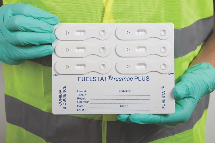 FUELSTAT fuel contamination test kit, a simple 10-minute immunoassay based test for detecting microbial contamination in both aviation and diesel fuel, is fully compliant with the new ASTM standard D8070.
