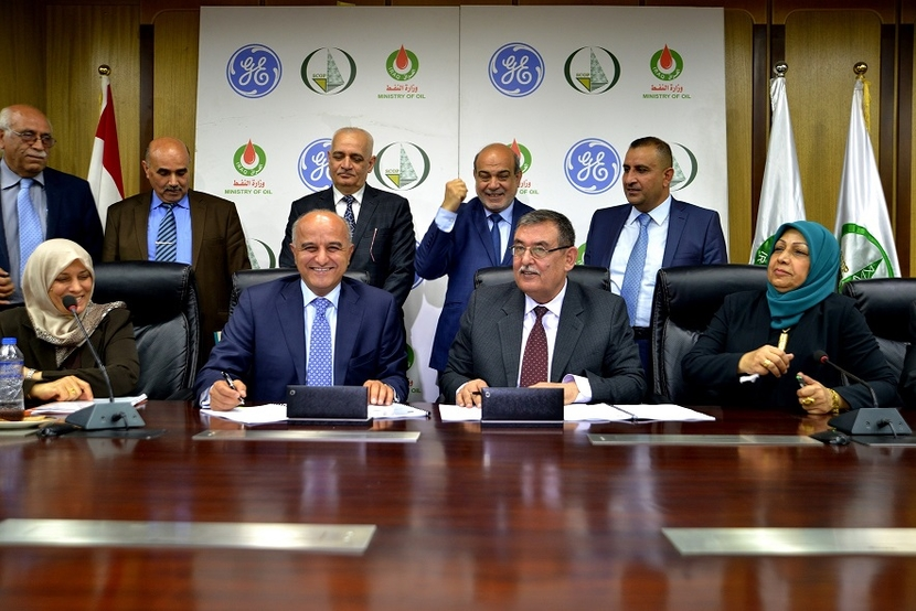 The agreement was signed at the Iraqi Ministry of Oil at a ceremony attended by Fayadh Hassan Nima, Deputy Minister of Oil and Rami Qasem, president & CEO, GE Oil & Gas - MENAT.