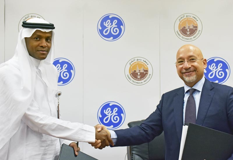 Through the partnership with GE Oil & Gas, Yanbu Technical Institute will be delivering the right skillsets and expertise of local talents, armed with cutting-edge technology and methodology.