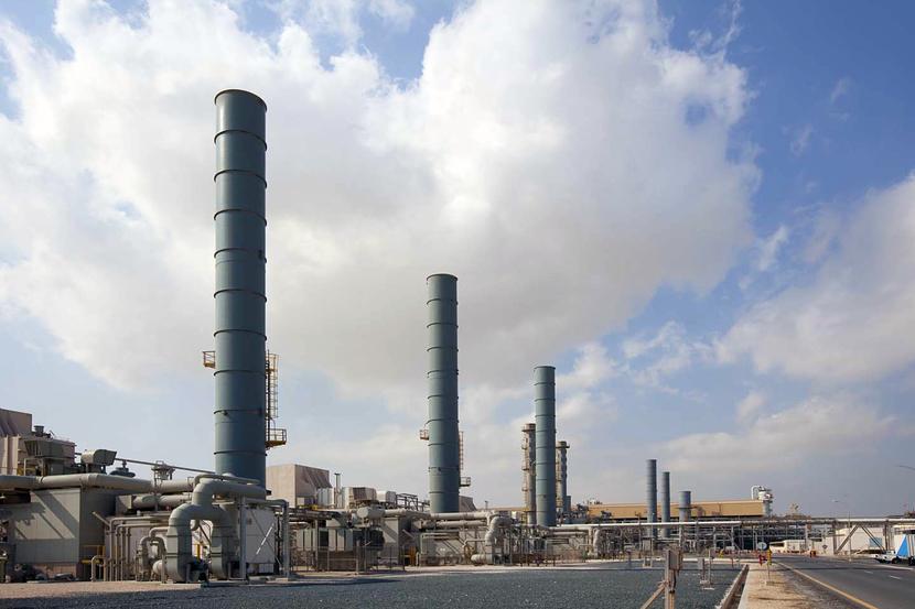 GE gas turbines at RasGas facilities in Qatar.
