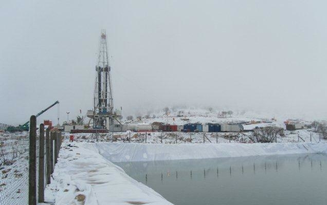 Gulf Keystone's Sheikh Adi-1 well. The company's shares traded down after interim results missed investor expectations.