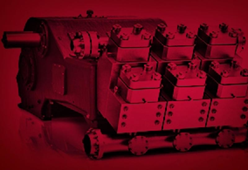 Gardner Denver Petroleum & Industrial Pumps has the largest inventory in after-market parts and consumables.