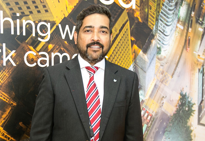 Sam Oommen, product manager – network visual solution and projector, imaging products group at Canon Middle East.