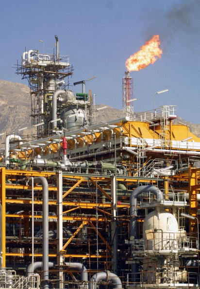 The country's gas production has increased tremendously in the past three years.