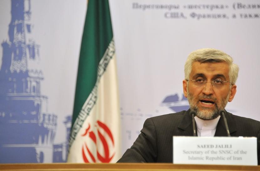 Saeed Jalili is Iran's head nuclear negotiator.