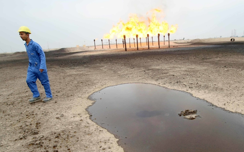 Basrah Gas Company will conduct the world's largest flares reduction project.